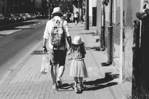 backpack-black-and-white-child-1194209