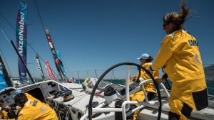 Cape Town stopover, Inport Race. Photo by Jeremie Lecaudey/Volvo Ocean Race. 10 December, 2017.
