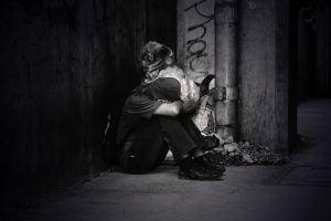 abandoned-adult-black-and-white-758794